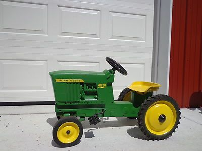 Ertl John Deere Diesel 4020 Pedal Tractor CAR Made IN USA | eBay