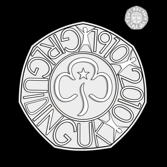 #coin design for UK 50p - by Lee Jones, Designer at The Royal Mint