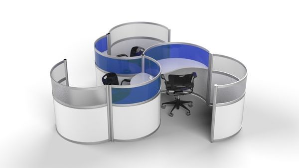 Cool Office Cubicle Pods
