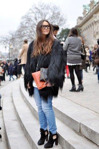 Prendas favoritas de invierno: Abrigos y chaquetas peludas