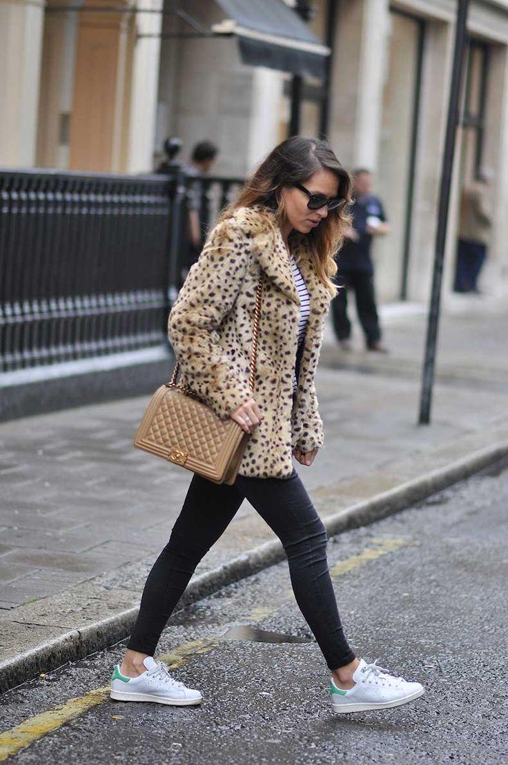 Adidas Stan Smith Street Style | Las Zapatillas Favoritas De Las Chicas Fashion | Cut & Paste – Blog ...