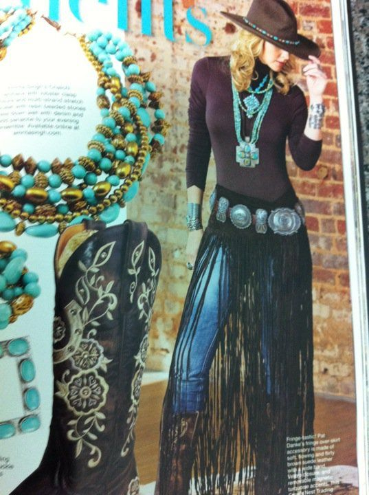 Like it! Adds a bit of funk to the typical western wear