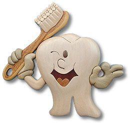 Happy Tooth Intarsia Plan