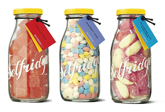 Selfridges Retro Sweets Collections