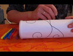 DIY Regenmacher - Rassel aus (Pringles) Dose