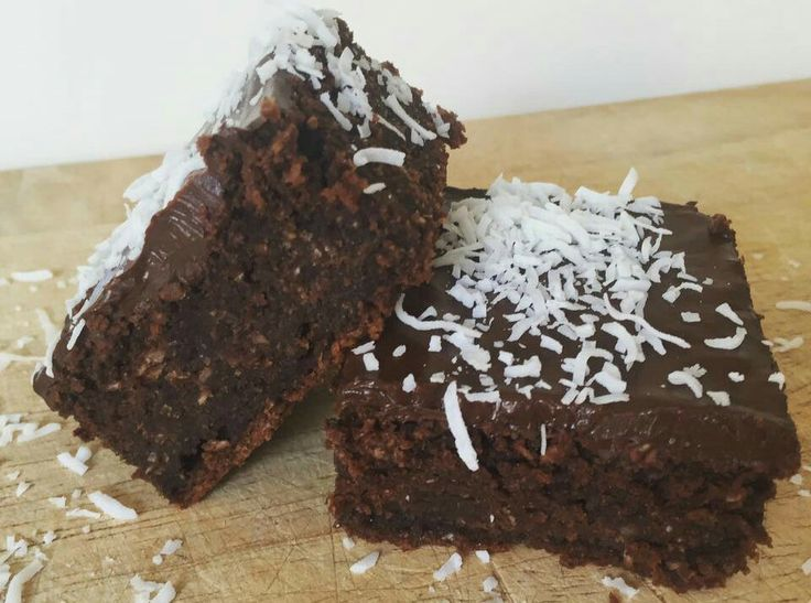HEALTHY Chocolate And Coconut Slice Chocolate and coconut go hand in hand perfectly and this slice takes it to another level! It's rich creamy and gives you a massive chocolate hit.  It's packed with healthy ingredients that won't affect your Healthy eating plan, if eaten it in moderation of course.  If you're needing a mid morning or afternoon pick me up, then this yummy chocolate coconut slice is for you!