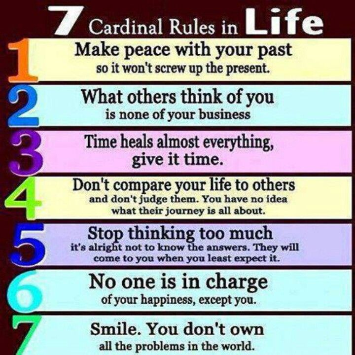 7 Rules Of Life Quote: Follow The Rules Quotes. QuotesGram