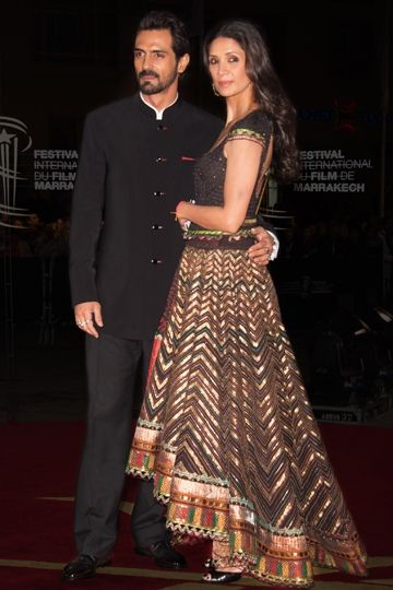 Mehr Jessia Rampal in Tarun Tahiliani's designed lehenga. To view, visit: http://www.vogue.in/content/best-dressed-2012-ethnic