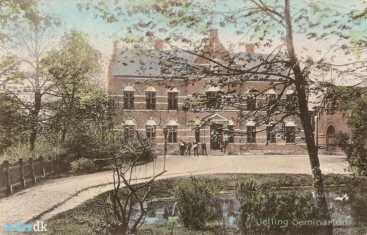 arkiv.dk | Jelling Seminarium, ca. 1900