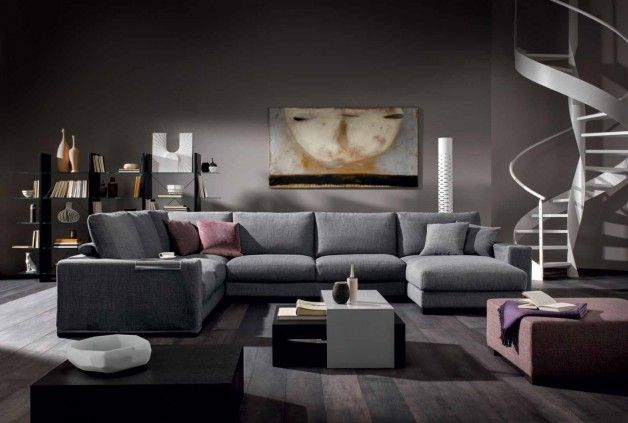 Natuzzi: Domino sofa - Great quality and very comfortable.