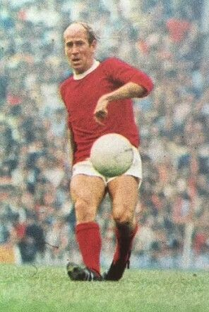 Bobby Charlton of Man Utd in 1968.