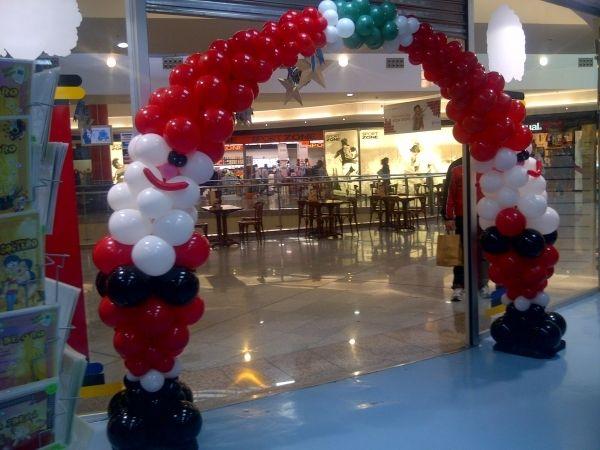 24 best decoraciones con globos para navidad images on - Decoraciones de navidad ...