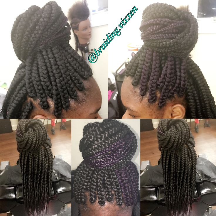 Medium Size Box Braids Cool Braids Big Box Braids Box