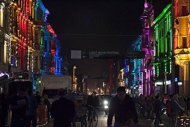 Light Move Festival, - Łódź, Poland