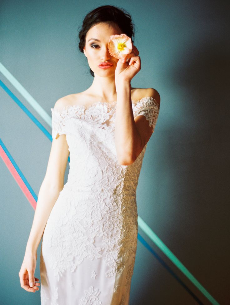 anna bé stylebook | anna maier wedding gown | Photography: Sara Hasstedt Photography // Set Design: Hey! Party Collective // Floral Design: Flora by Nora // Hair: Erin Ferris Designs // Make-up: Patty Nguyen