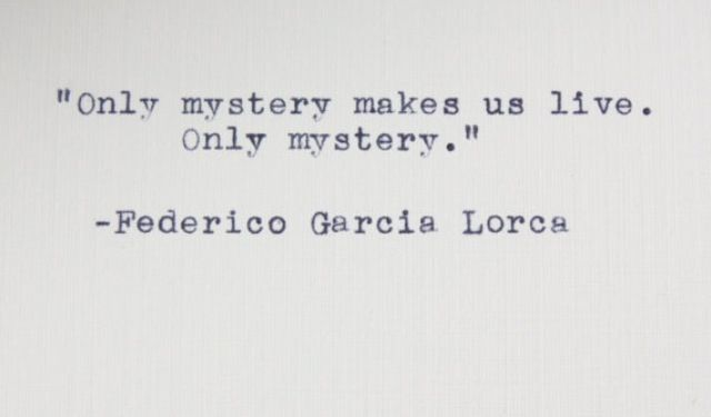 only mystery