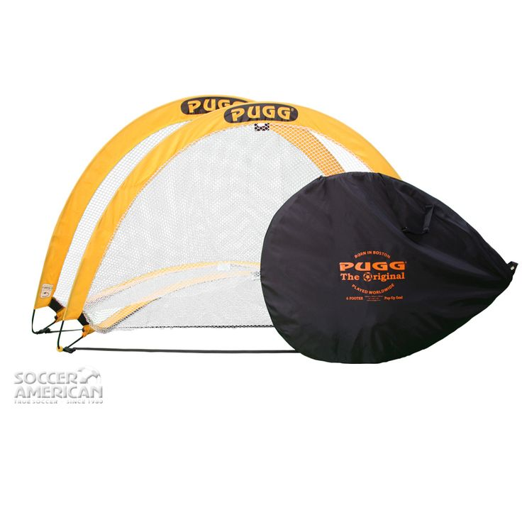 PUGG 6-Foot PUGG Soccer Goals - Available now at www.SoccerAmerican.com