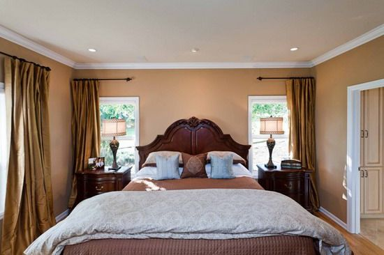 Brown Bedroom Curtains Ideas