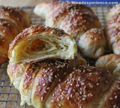 Pretzel Croissants made from the ancient grain with #KAMUT® Brand khorasan wheat flour #ancientgrains