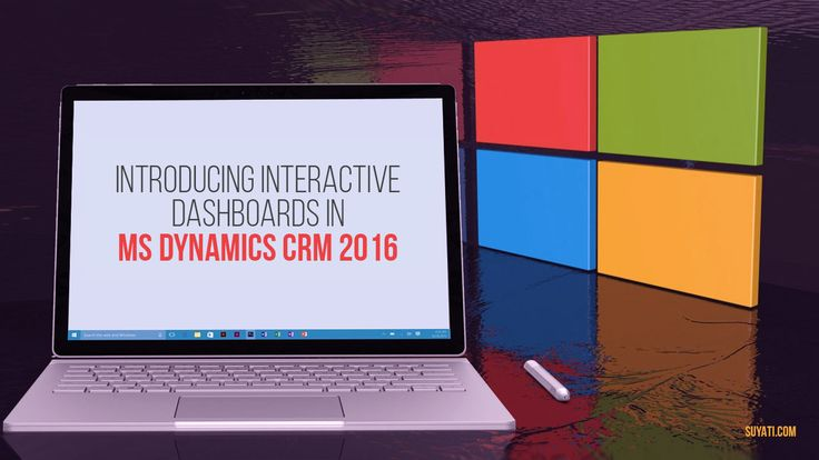 MS Dynamics 2016 offers you plenty of new and cool features. A technical piece that talks about the Interactive Dashboards of Dynamics 2016.