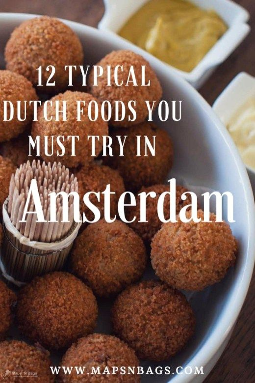 Typical Dutch Foods you must eat in Amsterdam.