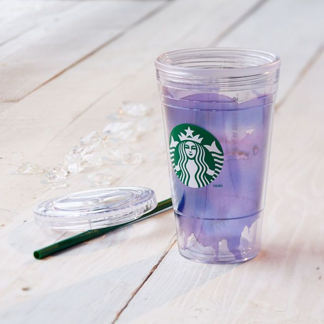 Gobelet pour boissons froides aquarelle - Violet, 473 ml/16 oz liq. | Boutique Starbucks® France (FR)
