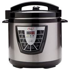 NEW Tristar Power Cooker Plus Pressure Cooker - Size: 8 Quart