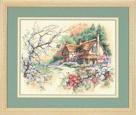 Dimensions 13687 «Деревенский дом»