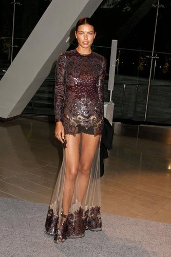 The Leg Veil: The 2013 Dress Trend You're Bound To Regret #Refinery29