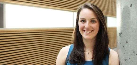 Meet Andrea Palmer, B.A.Sc. '15, Mechanical Engineering #UBCAPSCstars