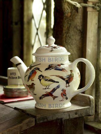 Emma Bridgewater British Birds 4-cup teapot