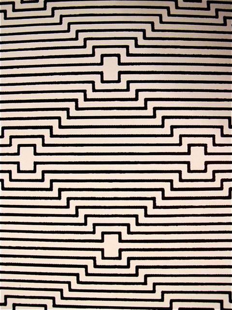 "Waclaw Szpakowski Polish (No!) 1883-1973 ""B: B5"" 1924 Ink on paper #pattern #geometric"