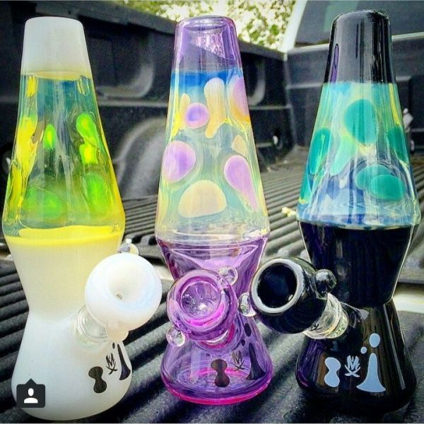 Lava Lamp Bong: Don't Worry Be Happy And Inhale