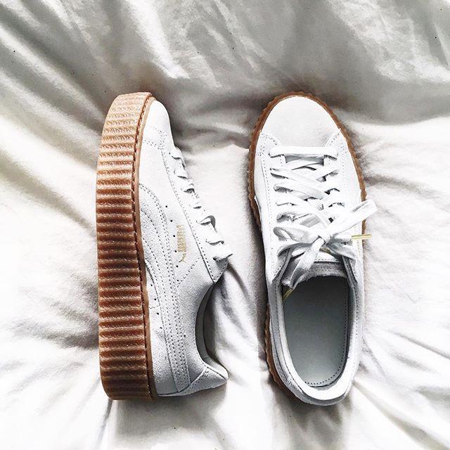 Sneakers n creepers at the same time @puma x @badgalriri