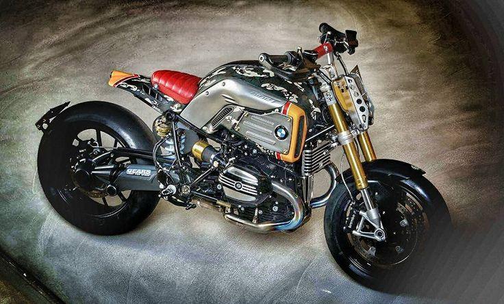 BMW NineT R9 Tracker by DK Design | Custom BMW R oilseeds ...