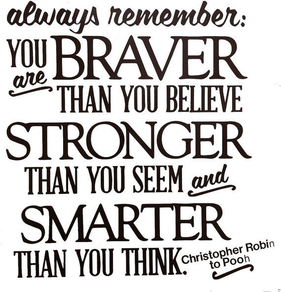 Always Remember You are Braver Than You Believe Vinyl by sookiedog, $18.00