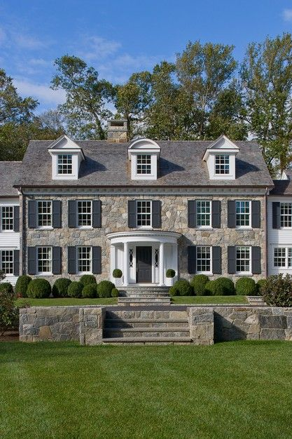 1000 ideas about center hall colonial on pinterest - Colonial house exterior renovation ideas ...