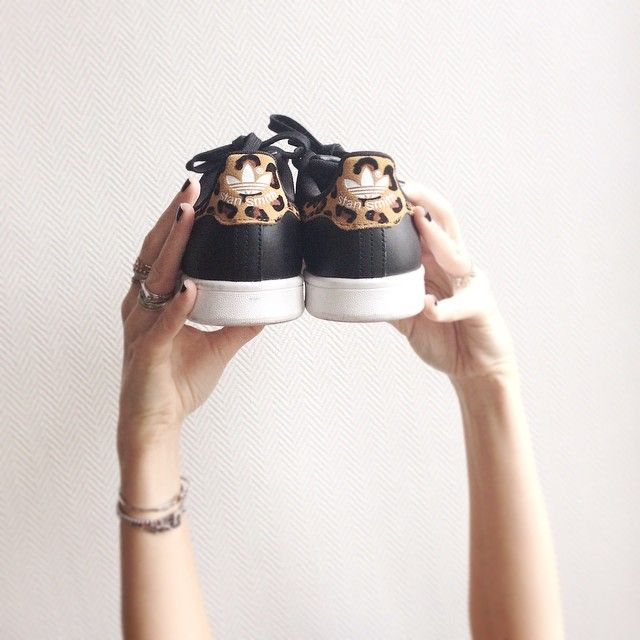 stan smith leopard
