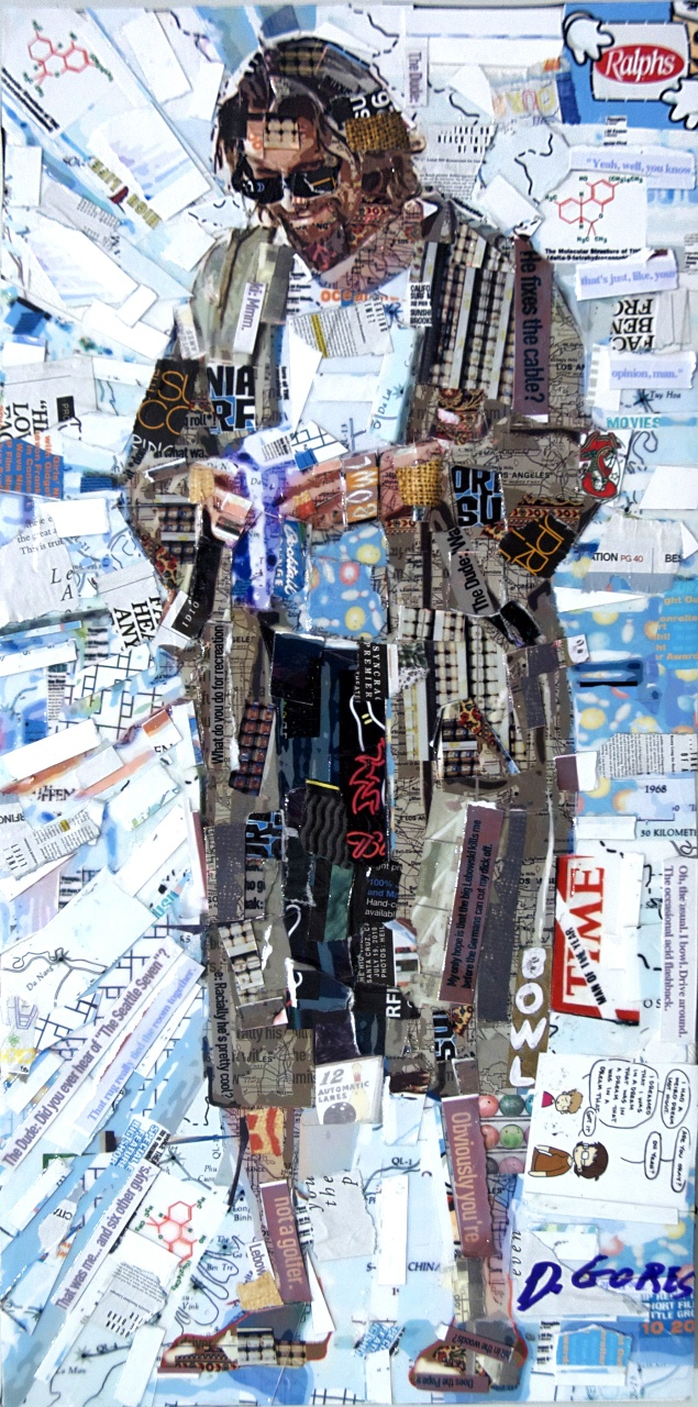 Big Lebowski Collage ~ Derek Gores