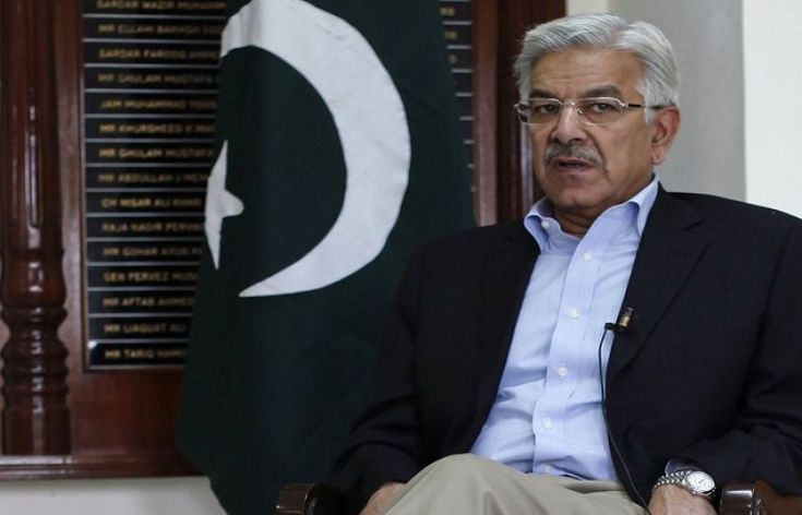 US should pay for fencing on Pak-Afghan border: Kh Asif
