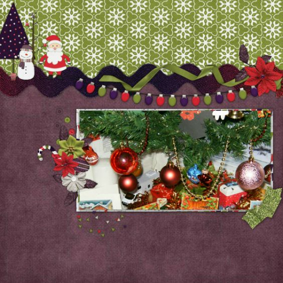 Created with Merry little Christmas by Marie H. Designs