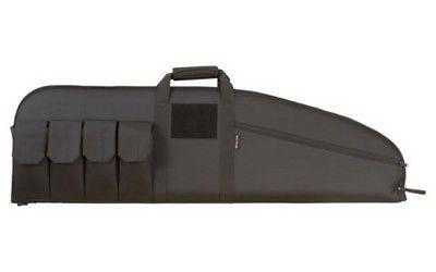 "Allen 10652 Black 42"" Battalion Tactical Rifle Case Magazine Pockets"