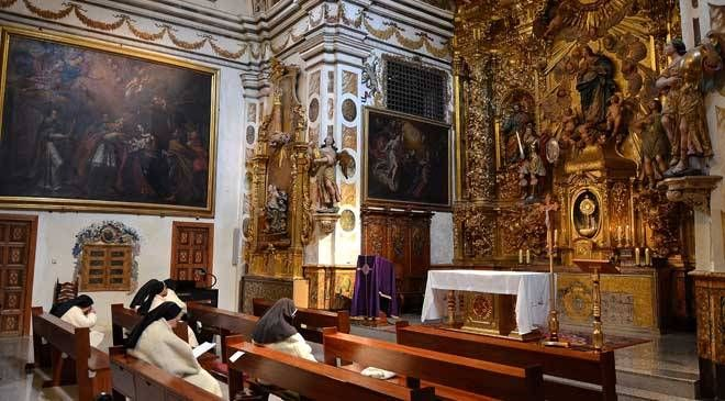 Altar mayor de la Iglesia de la Concepción en Borja © Enrique Lacleta Paños. Archivo del CESBOR