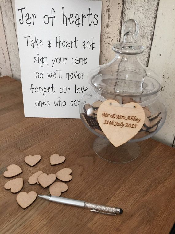wedding ideas with hearts jars and jar of hearts on 28358