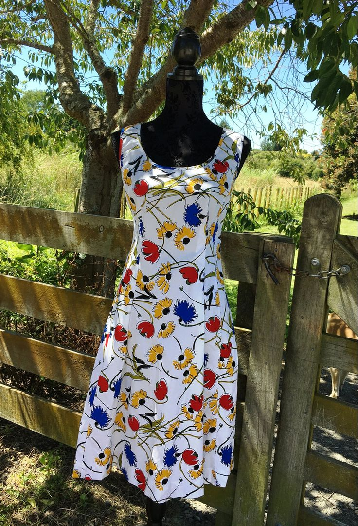 Lisa Law, Maddison Summer Dress, Summer, Dress, Cotton/Spandex