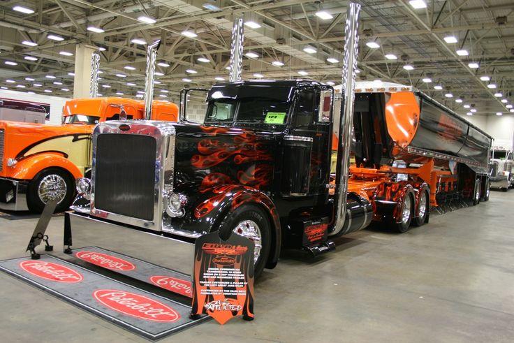 Peterbilt Dump Truck | Peterbilt 379 End  Dump Truck