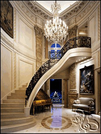 Just beautiful...incredible foyer and staircase.