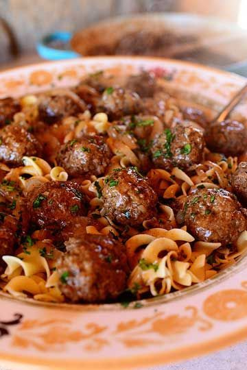 Salisbury Steak Meatballs. We love @Ree Drummond | The Pioneer Woman ?s new spin on a classic comfort food.