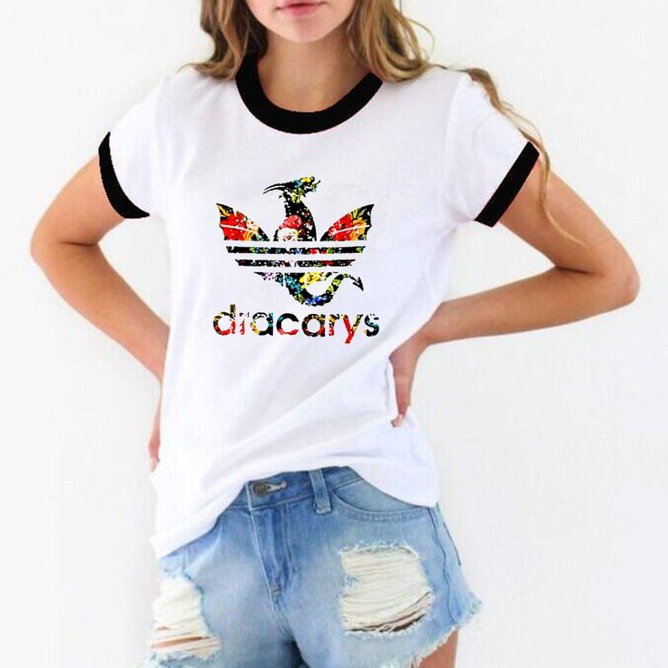 Game Of Throne t shirt women Dracarys graphic Tees women Tshirt tumblr tops tee …