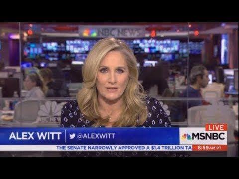 MSNBC LIVE WITH ALEX WITT 12/2/17 [FULL] BREAKING NEWS MSNBC NEWS DEC 2,...
